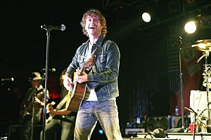 Dierks Bently at his 2011 Jagermeister Country Music Tour