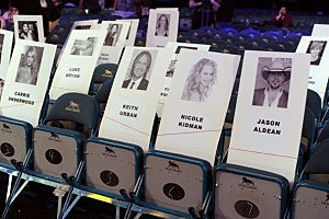 Pictures of Country Stars & Where They Will Be Seated At The ACM Awards