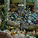 Inside A Cabela's Retail Outlet Store