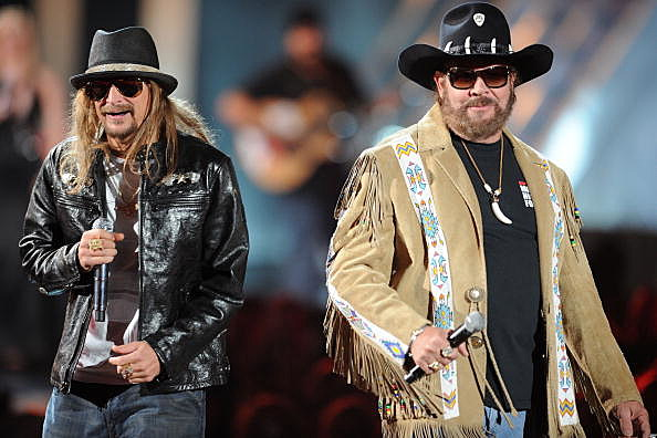 Hank Jr & Kid Rock Performing At The CMT Music Awards Show