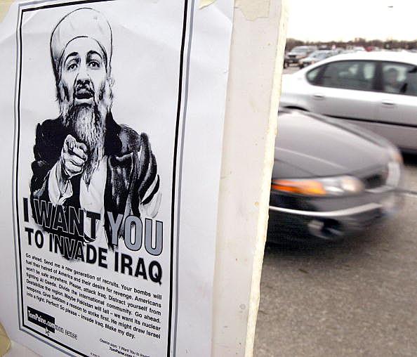 Osama Bin Laden Poster