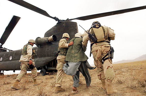 US Special Forces Hunt For Osama Bin Laden