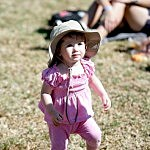 Little Girl Wearing Hat