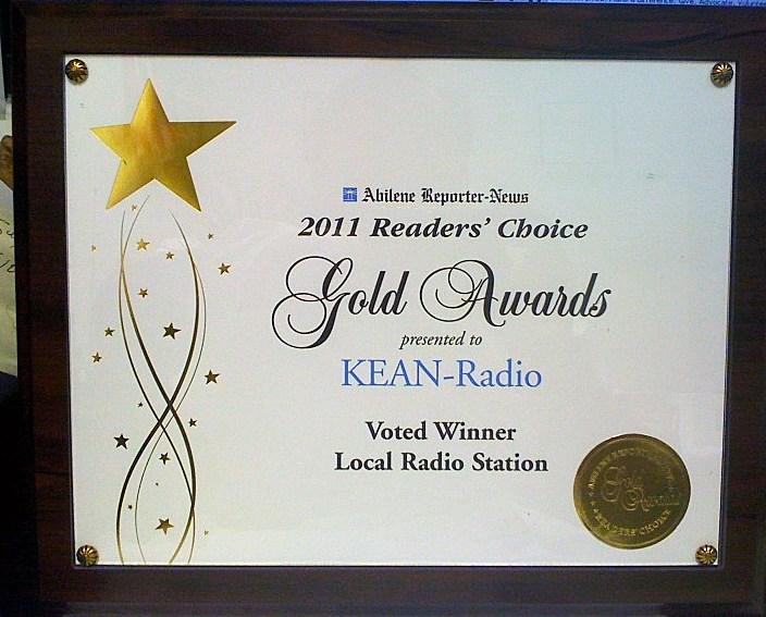 ARN Readers Choice Award KEAN 105