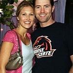Josh Turner and wife Jennifer