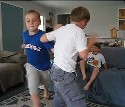 2 Boys Fighting