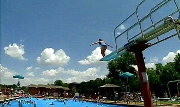 State Park Pool high dive