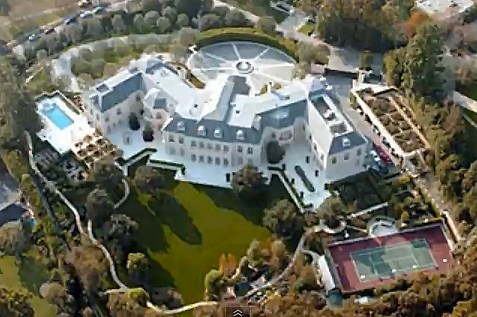 YouTube - Aaron Spelling's House For Sale
