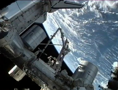 YouTube  Sunday on the Space Shuttle Atlantis From Outer Space