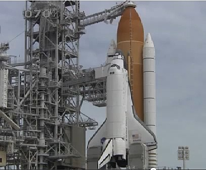 YouTube Space Shuttle Atlantis On Launch Pad