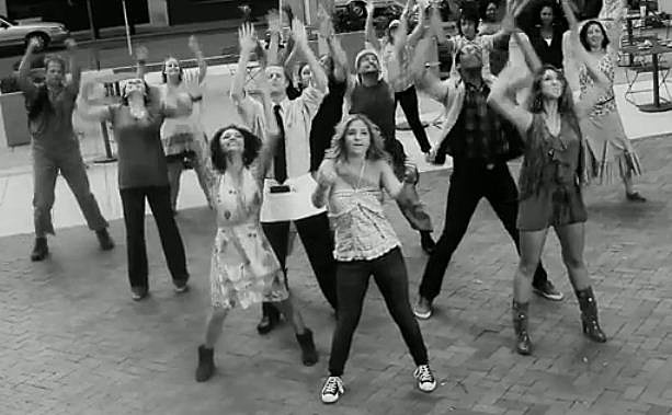 Margaret Durante Music Video Dance Scene