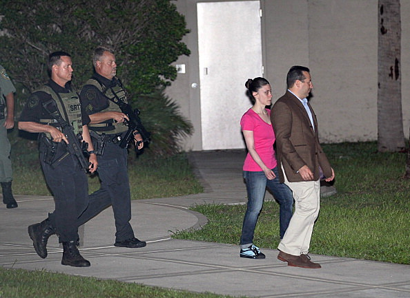 Casey Anthony and attorney Jose Baez Leave Jail
