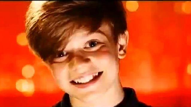 12 Year Old Ronan Parke close-up