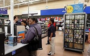Wal-Mart Electronics Department