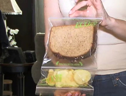 Ecozip Sandwich & Chips Stay Seperate