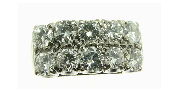 Texas Come and Get it Diamond Ring at Ebay
