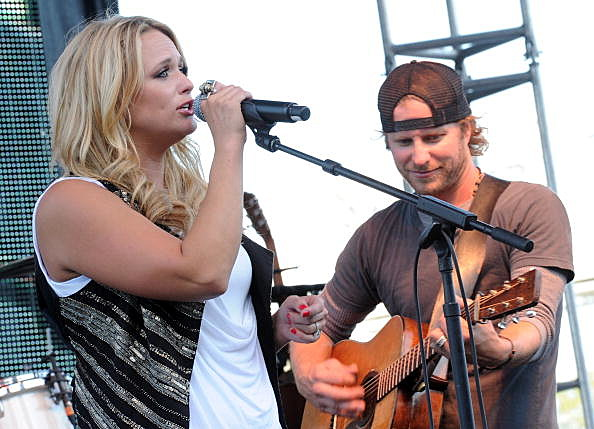 Miranda Lambert and Dierks Bentley perform