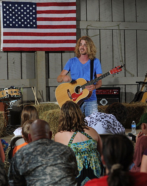 Bucky Covington performs