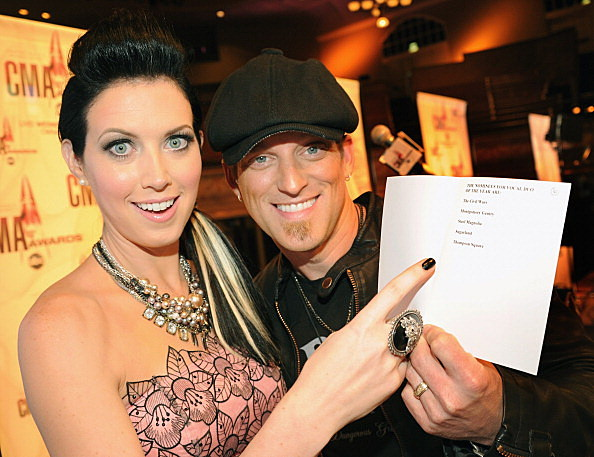 Nominated for 2 CMA awards, Husband and Wife duo Thompson Square
