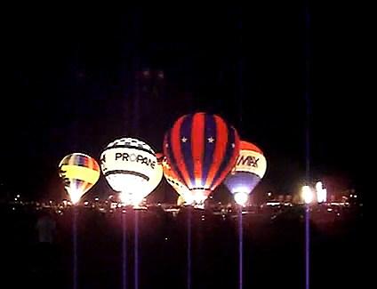 Abilene Balloon Fest Glow