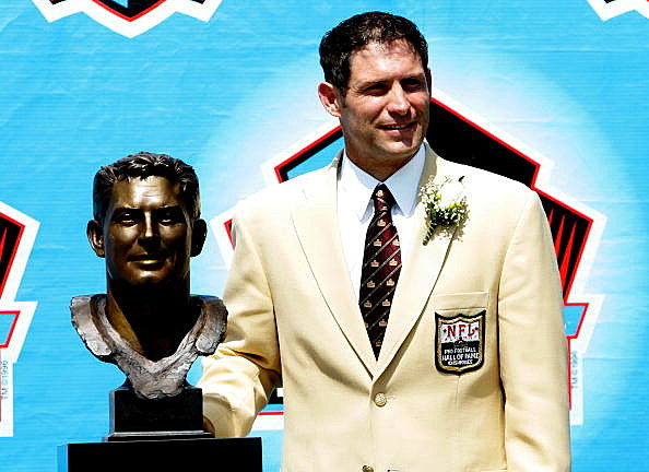 Pro Football Hall of Fame enshrinee Steve Young