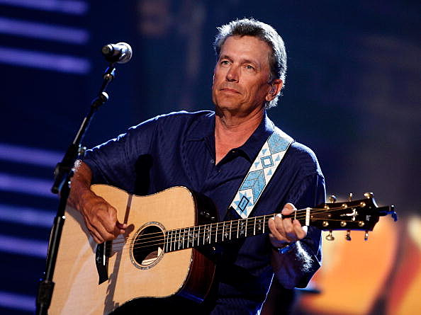Musician George Strait performs during the rehearsals