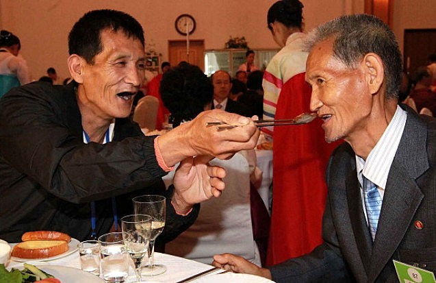 Korean Family Members Having Happy Times at Family Reunion