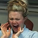 Yawning woman
