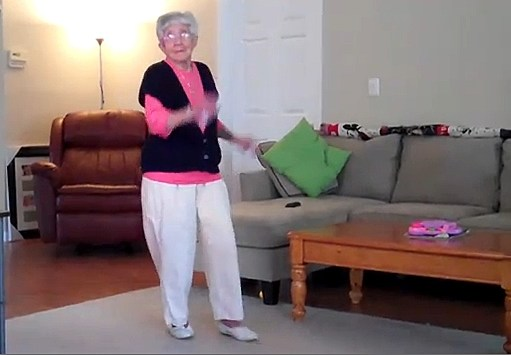 "These are some great ""dance"" videos from our more mature folks."