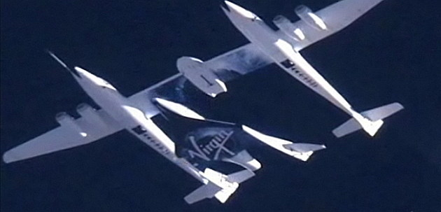 Virgin Galactic & White Knight plane