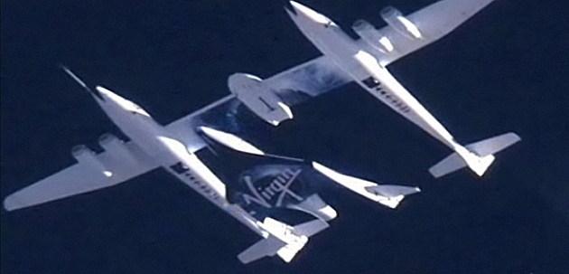 Virgin Galactic & White Knight plane