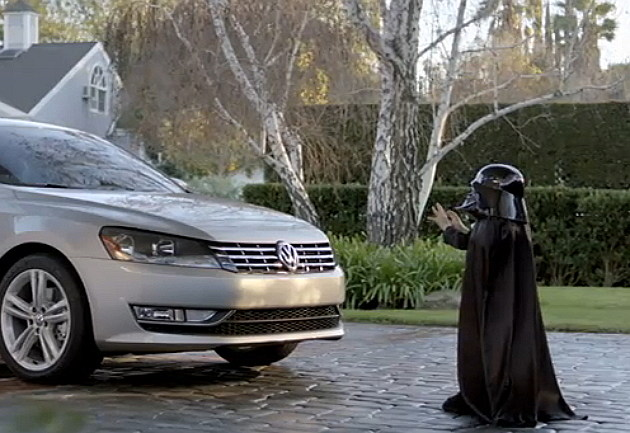 Young Darth Vader & VW