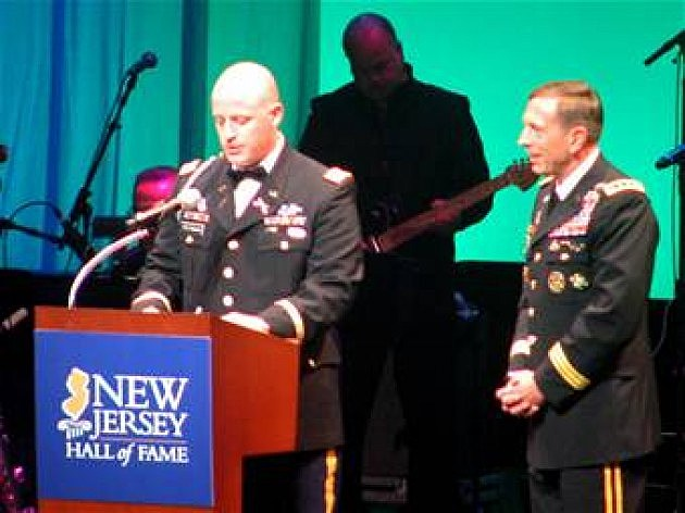 Lt. Brennan Speaks at Hall Of Fame