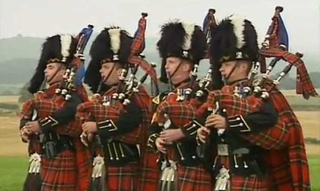 Bag Pipers playing