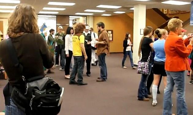 HSU Students at Richardson Library