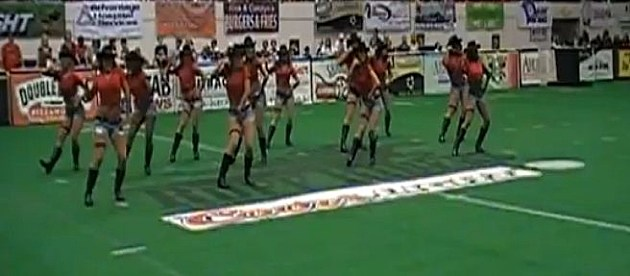 Ruff Riders dance team
