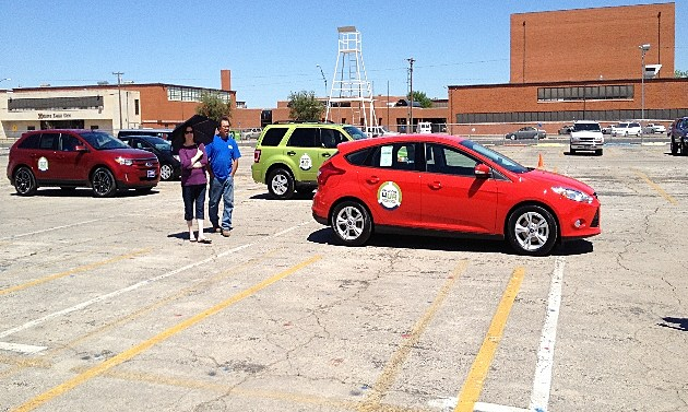 Drive One 4UR School Red Ford Escort