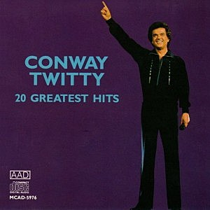 LP cover Conway Twitty Greatest Hits