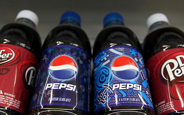 Pepsi and Dr. Pepper