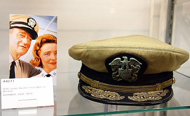 John Wayne military artifacts on display in New York