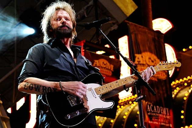 Ronnie Dunn performs onstage during the Academy of Country Music concerts at the Fremont Street Experience