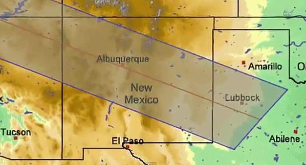 annular solar eclipse map
