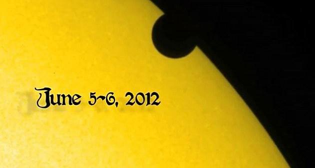 transit of venus June 5, 2012