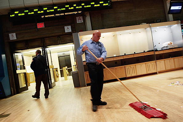 Custodian sweeping
