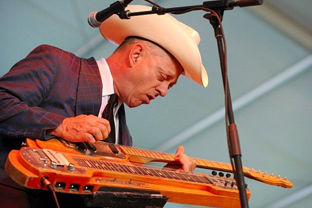 Junior Brown performs onstage