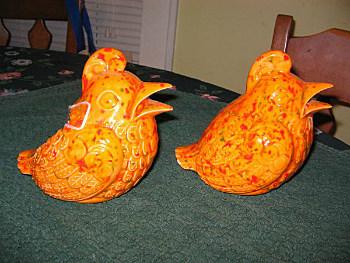 Ceramic Birds