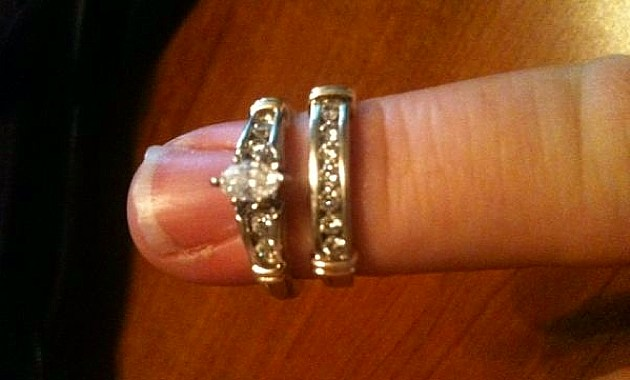Craigslist Wedding ring up for barter