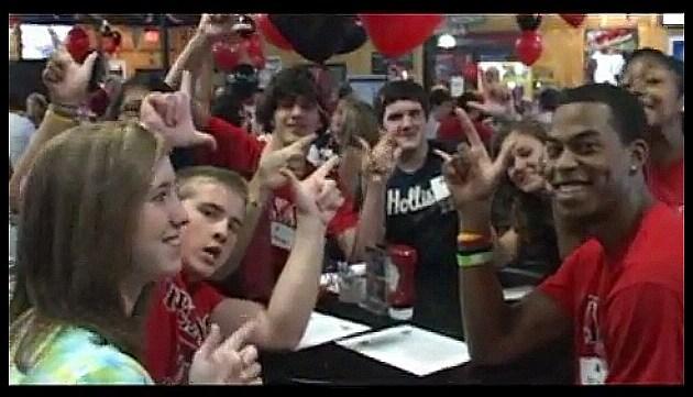 Texas Tech send off DFW party
