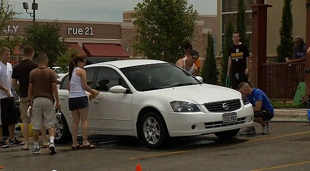 Dyess We Care car wash 1