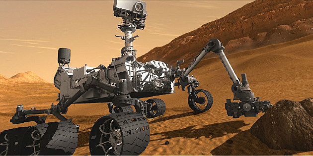 """Mars """"Curiosity"""" rover"""